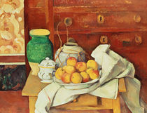 Still Life with a Chest of Drawers von Paul Cezanne