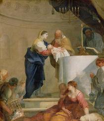 The Presentation in the Temple von Sebastien Bourdon