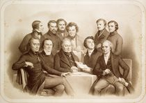 The Provisional Government of 24th February 1848 von Achille Deveria