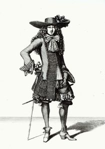 The Summer Sword Dress, 1675 by Bonnart