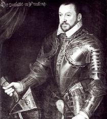 Portrait of Francois I, Duke of Montmorency von French School