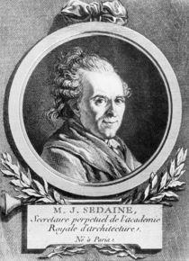 Portrait of Michel-Jean Sedaine by Jacques Louis David