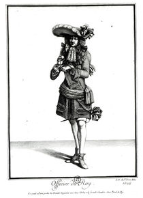 King's officer, 1675 by Jean Dieu de Saint-Jean