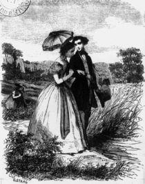 Felix de Vandenesse and Madame de Mortsauf by Pierre Gustave Eugene Staal