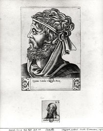 Two portraits of Catullus by French School
