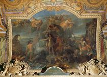 King Louis XIV taking up Arms on Land and on Sea in 1672 by Charles Le Brun
