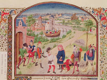 Ms 927 Fol.29v Courage and Cowardice by French School