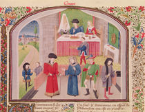 Ms 927 Fol.52v Prodigality by French School