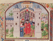 Ms 927 Fol.426 Presentation of The Economics by French School