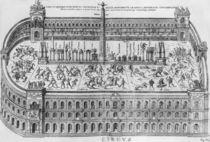 The Circus Maximus in Rome by Italian School