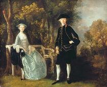 Lady Lloyd and her son, Richard Savage Lloyd von Thomas Gainsborough