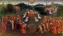Copy of The Adoration of the Mystic Lamb by Hubert & Jan van Eyck
