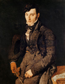 Portrait of Jean-Pierre-Francois Gilibert 1804-05 von Jean Auguste Dominique Ingres