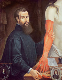 Andreas Vesalius by Pierre Poncet