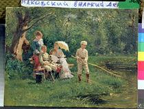Midday Sun, 1881 von Vladimir Egorovic Makovsky