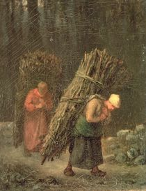 Peasant Women with Brushwood von Jean-Francois Millet