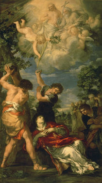 The Martyrdom of Saint Stephen by Pietro da Cortona