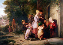 Returning from the Fair by Thomas Webster