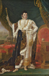 Portrait of Jerome Bonaparte King of Westphalia von Francois Josephe Kinson