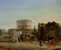 The Barrier at La Villette by Bernard Edouard Swebach