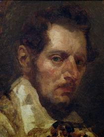 Self portrait by Theodore Gericault