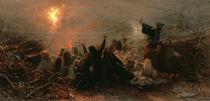 Self-Immolation, 1884 von Grigori Grigorievich Mjasoedov