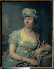 Portrait of Germaine de Stael by Vladimir Lukich Borovikovsky