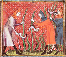 Ms 1044 f.120 Cutting Trees von French School