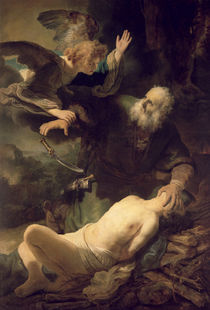 The Sacrifice of Abraham, 1635 by Rembrandt Harmenszoon van Rijn