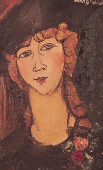Lolotte, 1917 by Amedeo Modigliani