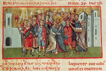 Ms Gr 54 f.99 The Kiss of Judas by French School