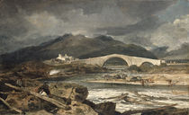 Tummel Bridge, Perthshire, c.1801-03 by Joseph Mallord William Turner