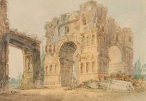 Arch of Janus, c.1798-99 by Thomas Girtin