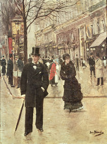 On the Boulevard von Jean Beraud