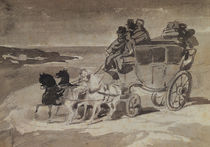 The Stagecoach by Theodore Gericault