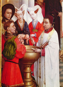 The Seven Sacraments Altarpiece by Rogier van der Weyden
