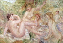 Study for the Large Bathers by Pierre-Auguste Renoir