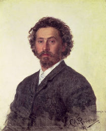 Self Portrait, 1887 von Ilya Efimovich Repin