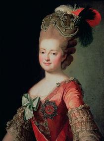 Portrait of Maria Fyodorovna von Russian School
