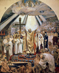 Baptism of Rus, 1885-96 by Victor Mikhailovich Vasnetsov