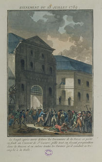 The Pillage of the Saint-Lazare Convent by Jean-Francois Janinet