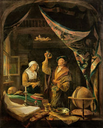 The Urine Doctor von Gerrit or Gerard Dou
