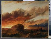 Shipwreck, c.1850 by Francis Danby