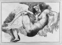 Leda, after a drawing by Michelangelo Buonarroti 1822 von Theodore Gericault
