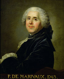 Portrait of Pierre Carlet de Chamblain de Marivaux 1743 by Louis Michel van Loo