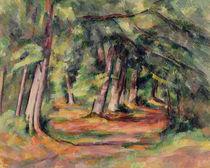 Sous-bois 1890-94 by Paul Cezanne