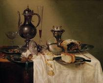 Still Life, 1642 von Willem Claesz. Heda