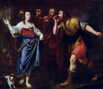 Rahab and the Emissaries of Joshua by Italian School