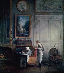 Lunch of Madame Geoffrin by Hubert Robert