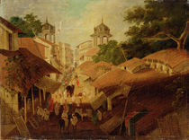 Street in Patna, c.1825 by Charles D'Oyly